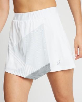 ASICS Club Gpx Skort Women's Skirts Brilliant White