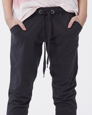 Jac & Mooki Sienna Sweat Pants - Sweatpants (Vintage Black)