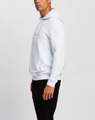 BOSS Hooded Loungewear Sweatshirt - Hoodies (White)