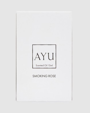 AYU SMOKING ROSE Perfume Oil 15ml Beauty N/A