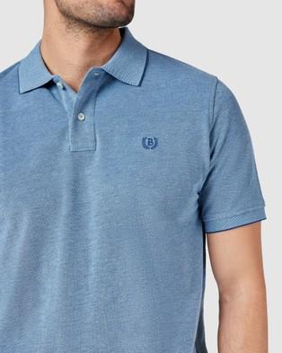 Blazer Liam Oxford Polo - Shirts & Polos (Denim Blue)