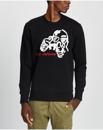 C.P. Company - Graphic Crew Neck Sweatshirt