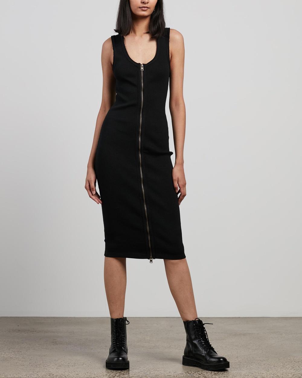 AllSaints Alicia Dress Bodycon Dresses Black