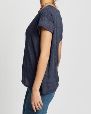 LENNI the label Kick Tee - T-Shirts & Singlets (Navy)