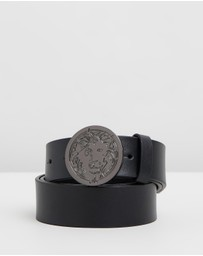 VERSUS Versace - Round Engraved Lion Belt
