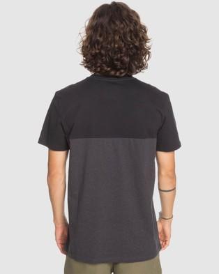 Quiksilver Mens Quiver Water T Shirt - T-Shirts & Singlets (Black)