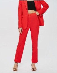 TOPSHOP - High-Waisted Suit Trousers