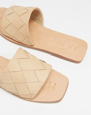 JAMES | SMITH Lecco Slides - Sandals (Nude)