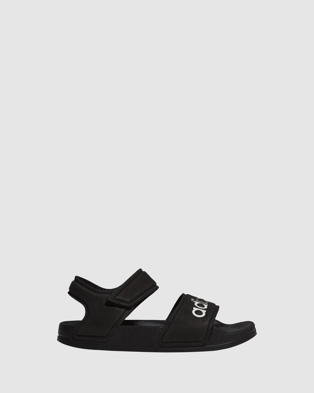 adidas Performance Adilette Sandal K Sandals Black/White