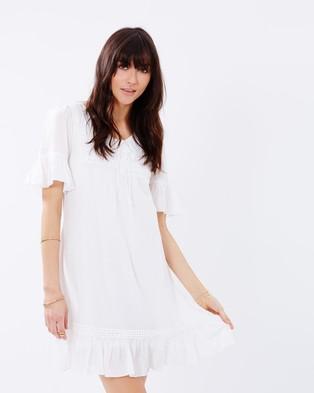 Kaja Clothing – Clarine Dress White