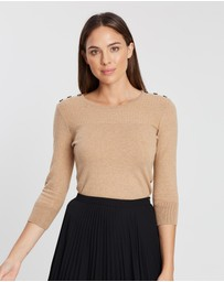 Marcs - Button Trim Knit