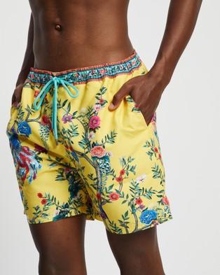 Camilla Elastic Waist Boardshorts - Swimwear (Fit For A King)