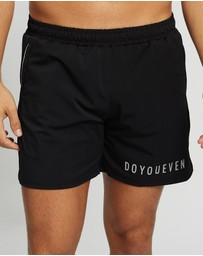 Doyoueven - Ghost Athletic Shorts
