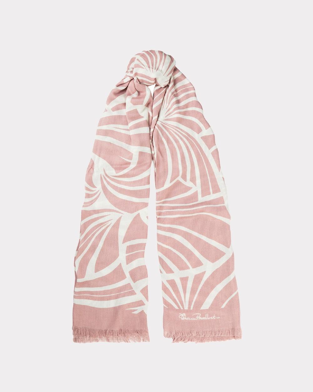 Florence Broadhurst Japanese Fans Scarf Scarves & Gloves Rose