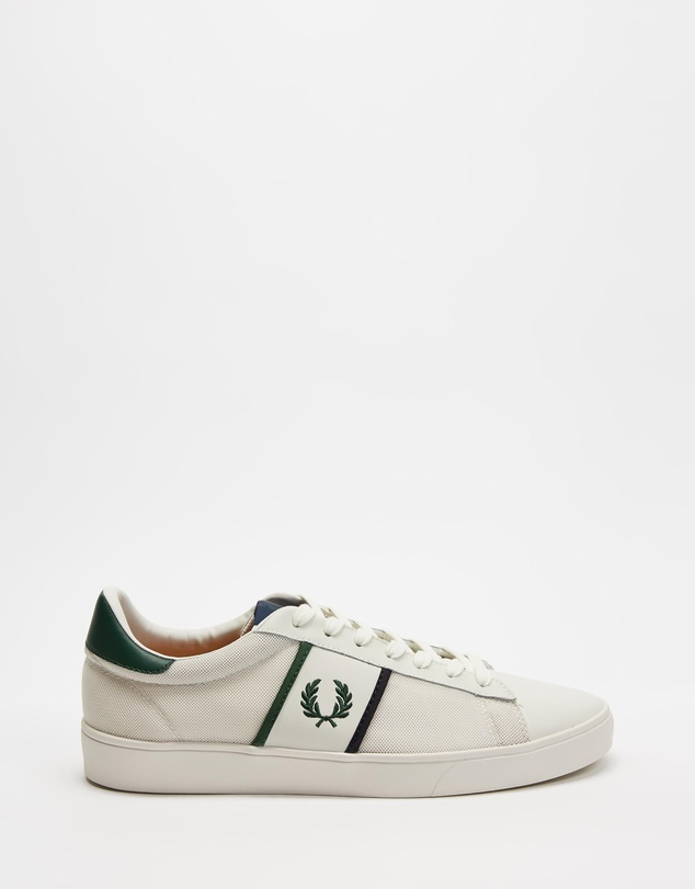 Fred Perry - Spencer Mesh with Tipping - Men's