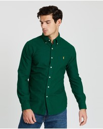Polo Ralph Lauren - Garment-Dyed Oxford Slim Fit Shirt