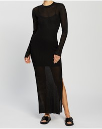 Bec + Bridge - Wren LS Midi Dress