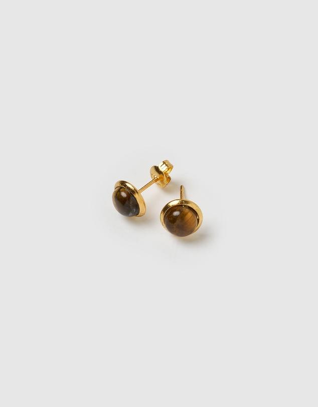 Women Sunlit Stud Earrings