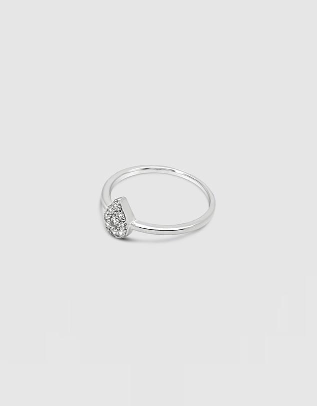 Women Tiny Tear Ring
