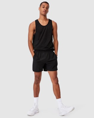 Cotton On Active Tech Tank - Muscle Tops (Black)