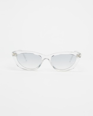 KENDALL + KYLIE Alessia - Sunglasses (Shiny Crystal Clear)