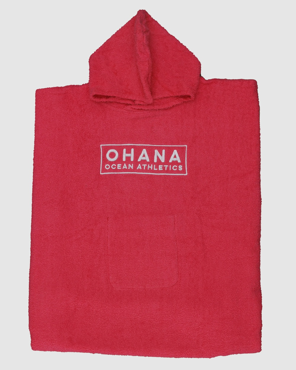Ohana Adult Hooded Towel Tech Accessories Hot Pink Adult Hooded Towel