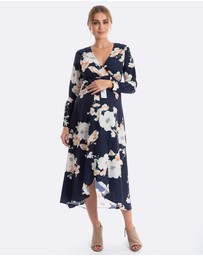 Maive & Bo - Harlow Long-Sleeve Maternity Dress