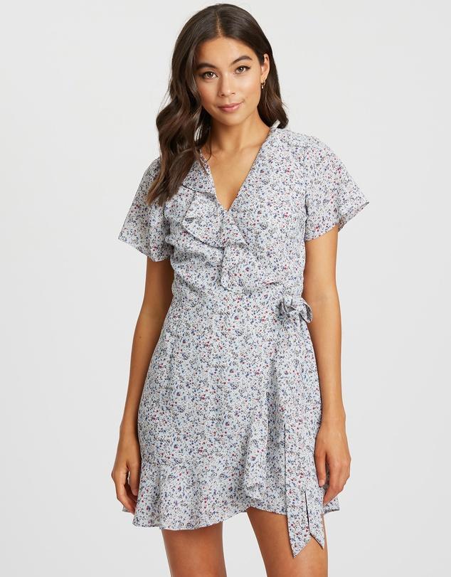 Artelia Wrap Dress by Calli