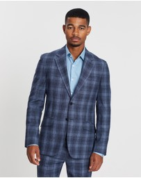 REISS - Bond Slim Fit Wide Notch Formal Jacket