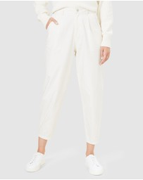 French Connection - Relaxed High Waist Pants