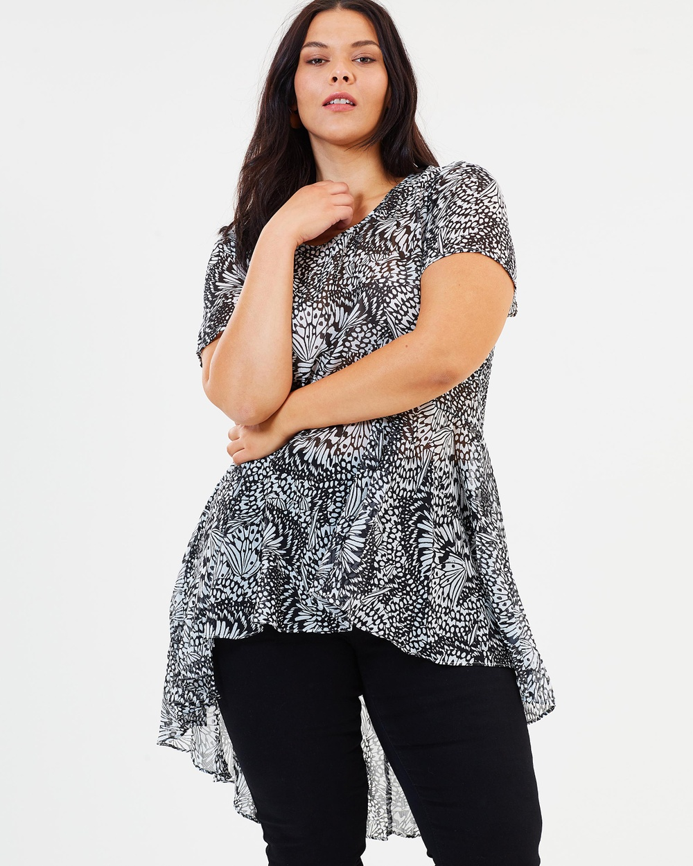 Estelle Jourdan Tunic Tops Print Jourdan Tunic