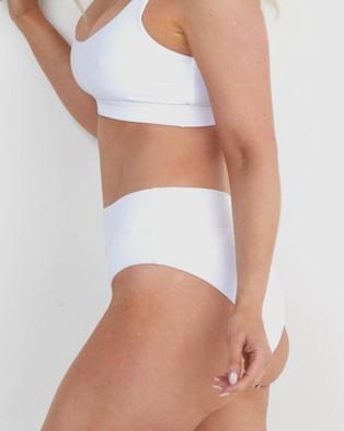 Infamous Swim Ginger Bottoms - Bikini Bottoms (White)