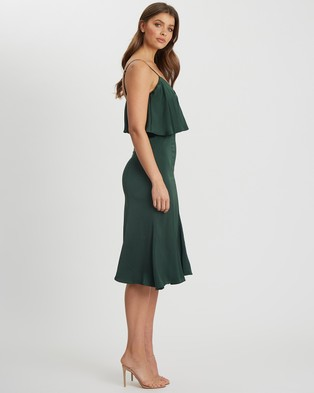 CHANCERY - Raelynn Midi Dress - Bridesmaid Dresses (Emerald) Raelynn Midi Dress