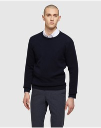 Oxford - Riley Textured Crew Neck Pullover