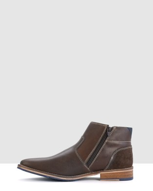 Acton Frazier - Boots (Brown)