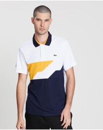 Disconnected Stripe Tech Polo
