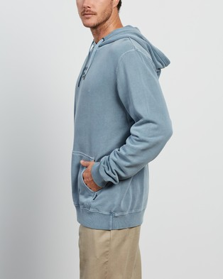 Afends Fight Pull On Hoodie - Hoodies (Abyss)