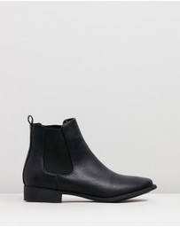 SPURR - ICONIC EXCLUSIVE - Callie Gusset Ankle Boots