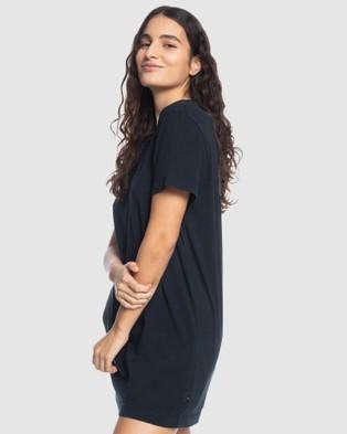 Quiksilver Quiksilver Womens Tee Dress - Dresses (Black)