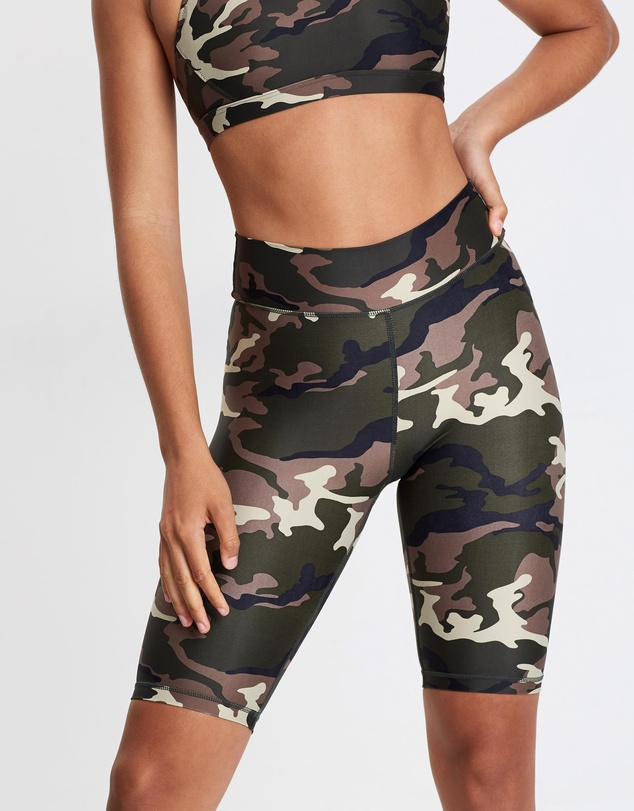The Upside - Camo Spin Shorts
