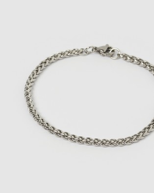 AOE MAN Jeep Men's Bracelet - Jewellery (Silver)