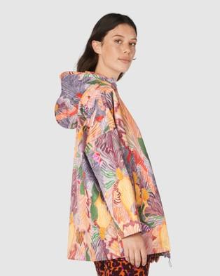 Gorman Iris Veins Raincoat Coats & Jackets Multi