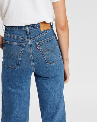 Levi's Ribcage Straight Ankle Jeans - High-Waisted (Georgie)