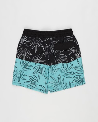Lost Society Print Boardshorts   Teens - Swimwear (Top Deck)