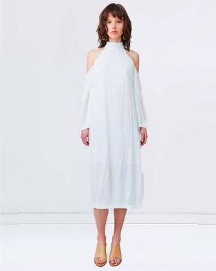 Third Form – Waver Halter Dress Natural