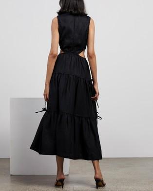 Bec + Bridge Henriette Maxi Dress - Dresses (Black)