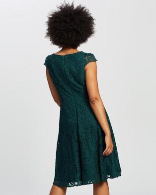 Review Arcadia Dress - Tops (Emerald)