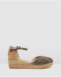 Jo Mercer - ICONIC EXCLUSIVE - Copa Mid Heel Wedge Espadrilles