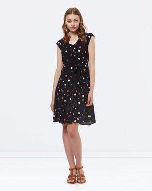 Princess Highway – Natasha Dress Navy