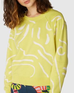 Gorman Life Drawing Sweater - Hoodies (Green)